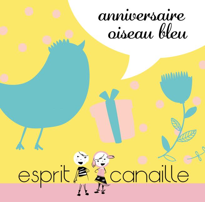 anniversaire oiseau bleu